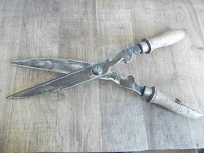 seltene Art alte Heckenschere,Bauer,Gärtner,Strauchschere