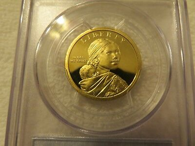 2011-S Native American Dollar coin Proof PCGS PR69 DCAM graded San Francisco 3