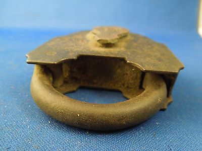 Antique S & Co Sargent & Company New Haven CT Padlock No Key 7