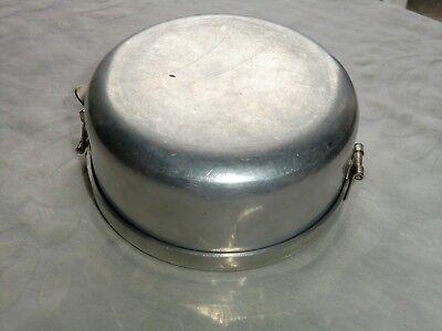 Wolfsiffer´s Pulvermisch-Dose rund komplett mit 3 Kugeln aus Aluminium 9