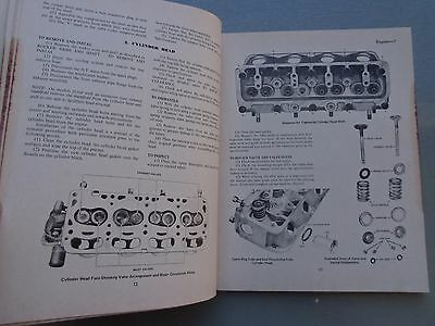 Toyota Corolla 1200 With 3K Engine Workshop Manual Late 1960'S Early 1970'S 6