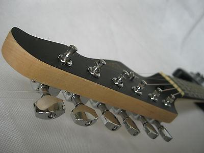 Optik ! E-Gitarre Matt Blau - Pickup Glanz Schwarz - Elektrogitarre - Tremolo -# 6