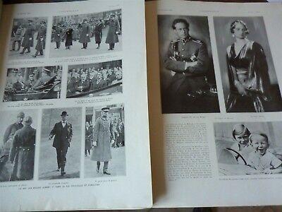 L/'illustration 4747 24 février 1934 Albert 1er roi des belges