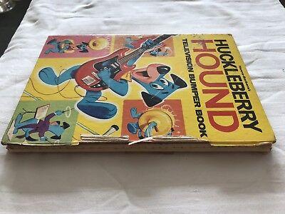 Hanna Barbera's  Huckleberry Hound Television Bumper Book. Rare 6