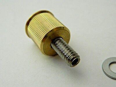 NEW 4 pk Milwaukee Twins 20 Gauge Brass Shotgun Shell Bullet License Plate Bolts 8