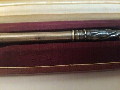 "Rare Vintage Detailed Cigarette Holder 1800,s 8"" Dabusti Knos Joyeros With Case 5"
