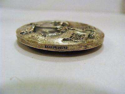 UNIQUE Norwegian Writer CAMILLA COLLETT Silver 999 Coin - Medallion, Signed