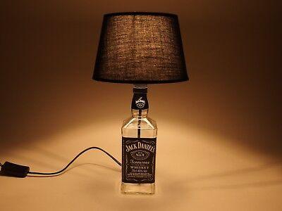 Jack Daniels - Flaschen Lampe Tischlampe LED 220V mit Schalter ORIGINELL S2 0,7L 8
