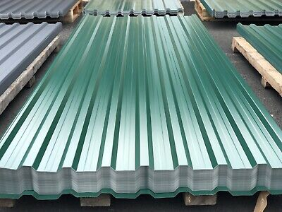 Trapezblech Profilblech 300x114cm Wellblech 0,55mm Dachblech Stahlblech RAL7016