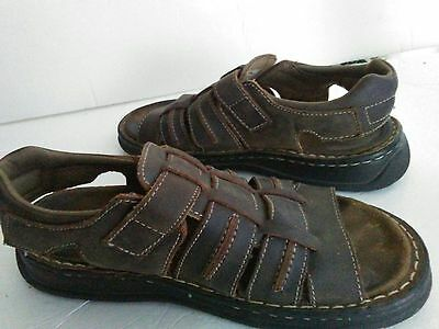 bf360a55a374 ... NEVADOS Mens Brown Open Toe Strappy Fisherman Sport Sandals Shoes sz 10  V6408M-E 10
