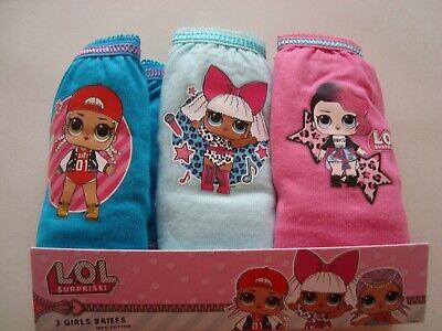 Children's Girls Briefs Underwear LOL Surprise,Paw Patrol,Hey Duggee,My Little P 2