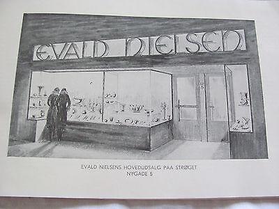 """Evald Nielsen Denmark Silver 830 - Pattern #33 - Cake-Fork/Pastry Server 6 5/8"""" 8"""