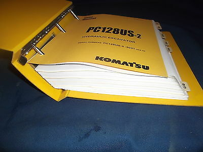 komatsu pc128us 2 shop manual