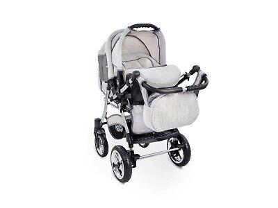 Passeggino TRIO Baby Carrozzina 3in1 Seggioliono OVETTO AUTO GagaDumi Urbano 10