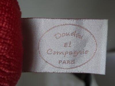 Doudou Et Compagnie Les Demoiselles Cupcake Corail 20 Cm Doudou Mouchoir Hochet 10