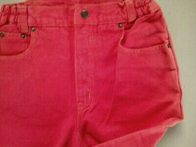 Rote Jeans, unisex, Größe 164, Basta, Vintage- Format, Maßangabe 2