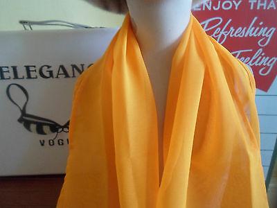 1 NEW Colourful Mixed Fibre Ladies Scarf TANGO ORANGE+SILVER ~ Gift Idea #67 3