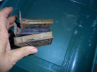 Three Lock Inserts See No Names  Vtg 7