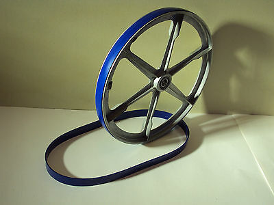 """8"""" Band Saw Tire Set For Delta Model 28-185 Blue Max Urethane Band Saw Tires 3"""