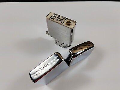Oil Kerosene Refillable Flip Top Pocket Windproof Metal Cigarette Lighter Silver 6