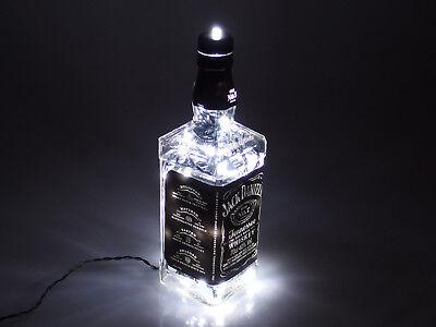Jack Daniels - Flaschen Lampe mit 80 LEDs 220V Warm- UND Kalt-Weiß UMSCHALTBAR 6