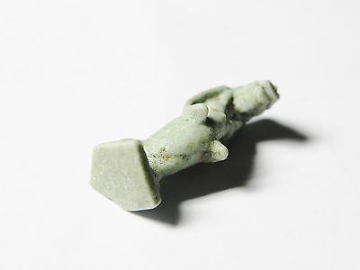 Zurqieh -Mk2252- Ancient Egypt - Beautiful Tuarete Amulet, 600-300 B.c 5