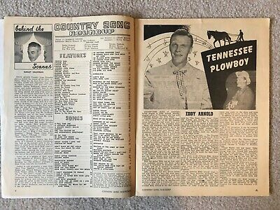 December 1952 COUNTRY SONG ROUNDUP Magazine - Eddy Arnold/Kitty Wells/Ray Price 2
