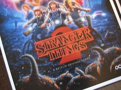 """Stranger Things (11"""" x 17"""")  Collector's Poster Prints  ( Set of 3 ) 2"""