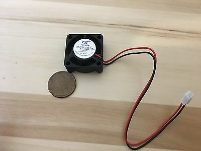 4 Pieces BXR 25mm x 25 x 10 Brushless Cooling Fan small micro Flow CFM 12V c11