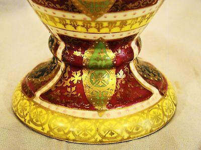 Vienna Cabinet Urn Vase after Angelica Kaufmann Blue Royal Vienna Style Beehive 7
