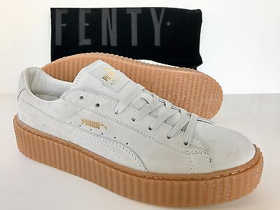 newest 5e158 cf125 NEW PUMA FENTY By Rihanna Creepers Suede Star White Men's Shoes All Sizes