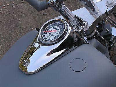YAMAHA VSTAR 1100 SPEEDO GAS TANK SPIKES chopper bobber xvs1100 speedometer