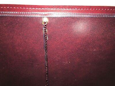 Qty 20 (Pu Leatherette) Top Quality A4 Menu Folder In Black Or Burgundy 4
