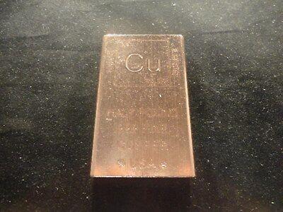 Coins & Paper Money Bullion .999 Half Pound Copper Bar 2012 Provident Metals Mint Cu Element Pure Bullion