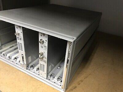 HP 4142B Main Frame ,Module DC Source /Montitor Hewlett Packard ID-AWW-7-4-002 3
