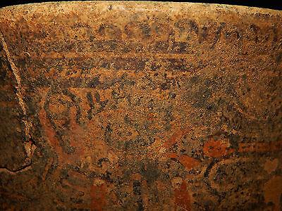 Pre-Columbian Pedestal Urn, Chimney Pot,Polychrome, Nicoya, Very Large 9