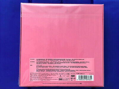 BLACKPINK IN YOUR AREA Limited 2CD+DVD+PHOTOBOOK SPECIAL BOX AVCY-58783  Japan