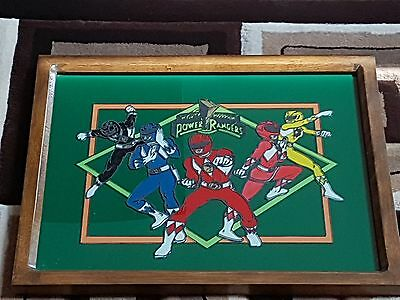 Hand Painted And Framed Power Rangers Artwork 5