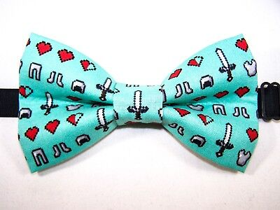 Handmade USA*FREE SHIPPING NEW FABRIC BOW TIE W//Adjustable Strap CRAB CRABS