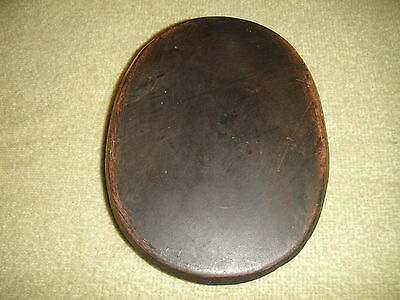 Vintage Chinese Or Japanese Paperweight Memorial Plaque-Plaster Chalkware-Bronze