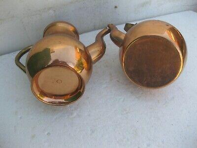 teteras antigua de cobre con asas 3