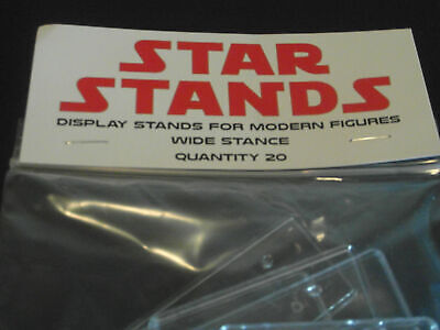 "T5c 2/"" Rectangles 10 x Star Wars Modern Action Figure DISPLAY STANDS"