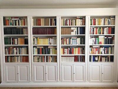 Mensole Laccate Su Misura.Librerie Su Misura In Legno Massello Laccate Bianco Eur 4 800 00