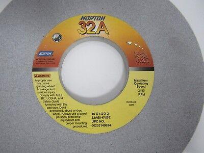 New Norton 32A 10 x1 x3 Grinding Wheel 32A60-l12VBEP