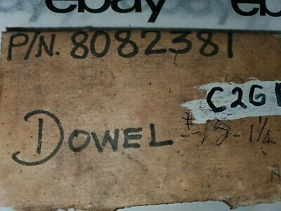"General Motors Electro-motive 8082381 Dowel 1/2"" x 1-1/4"" x 5/16-18 inner thread 5"