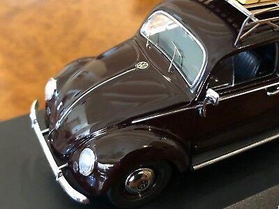 "Schuco 1:43 VW Kafer - Käfer Teilung Fenster "" Sommer 1951 "" #Shu00726 6"