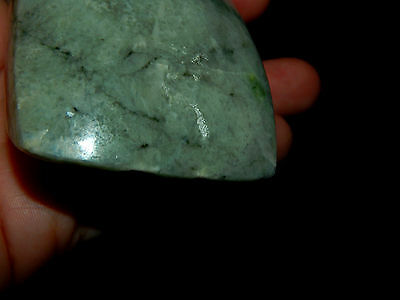 Pre-Columbian Jade Axe, Authentic Costa Rica Jade, Huge Piece of Jade 6