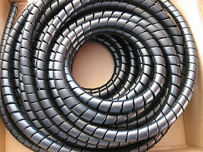 10 meter Hydraulic Hose Spiral Wrap Guard Potection 36-45mm JCB Forestry Tractor digger