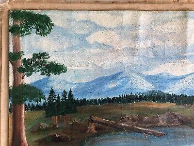 Marcel Fournier Painting Original Antique RARE Appraised $4000 + 8