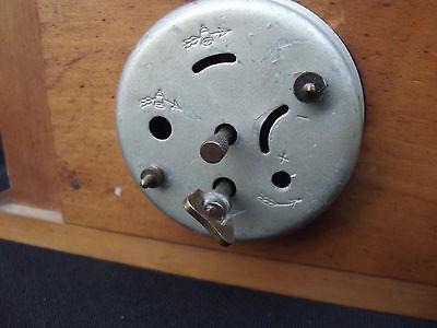 Rare BAYARD castlle wood clock; 5